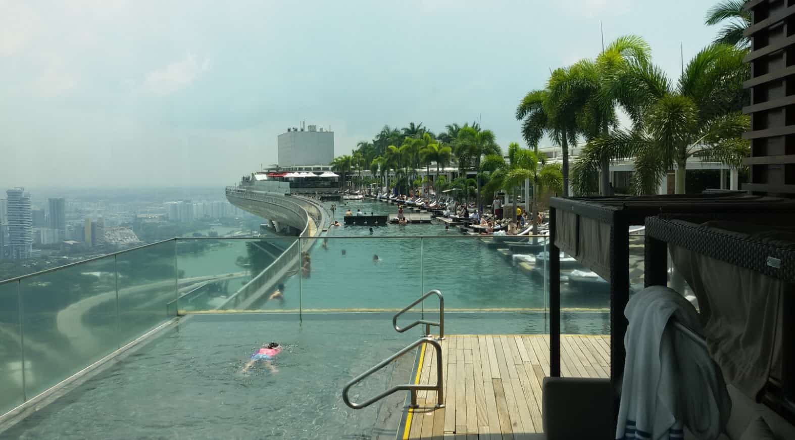 Marina bay sands hotel a singapore - Marina bay sands piscina ...