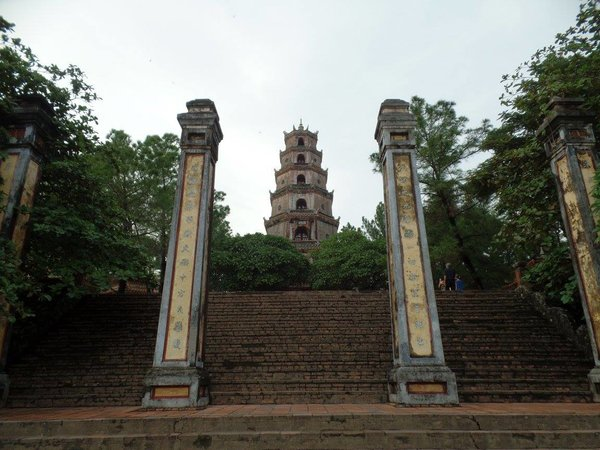 cosa vedere vietnam pagoda thien mu